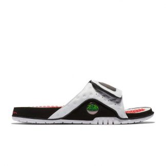 new style ee8ec 8f37a Canada Jordan Hydro 13 Retro Black/White/Red Mens Slide - cheap jordan  shoes size 10 - M0280
