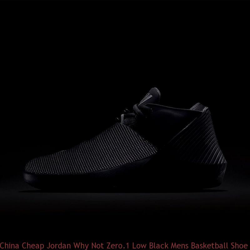 low priced b4def bc4d4 China Cheap Jordan Why Not Zero.1 Low Black Mens Basketball Shoe - cheap  bordeaux 7 jordans - Q0198