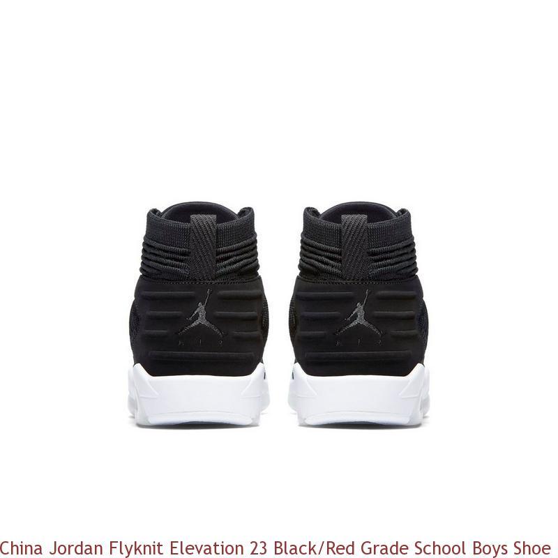 sports shoes f9d83 0bf07 China Jordan Flyknit Elevation 23 Black/Red Grade School Boys Shoe - buy  nike shoes wholesale - R0238