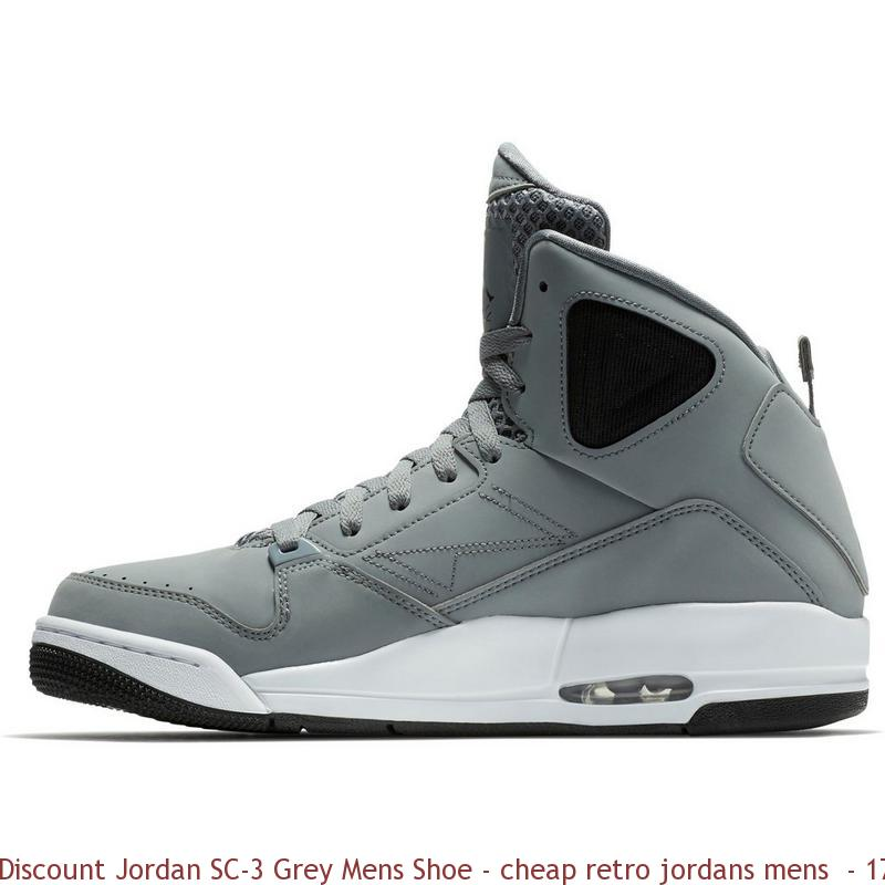 Discount Jordan SC-3 Grey Mens Shoe – cheap retro jordans mens ... cdb4221dd