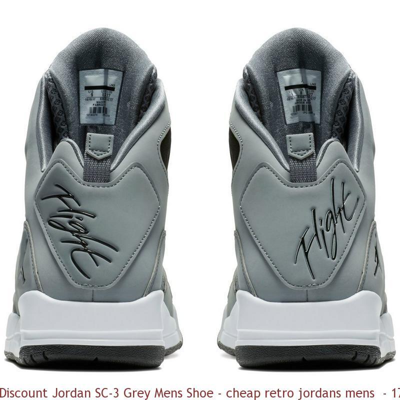 sneakers for cheap 4edbc 8bfc2 Discount Jordan SC-3 Grey Mens Shoe ...