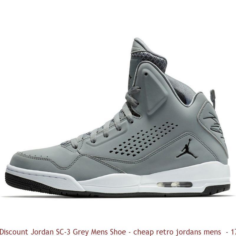 best sneakers 442bf 8d1f9 Discount Jordan SC-3 Grey Mens Shoe - cheap retro jordans mens - 1760VG
