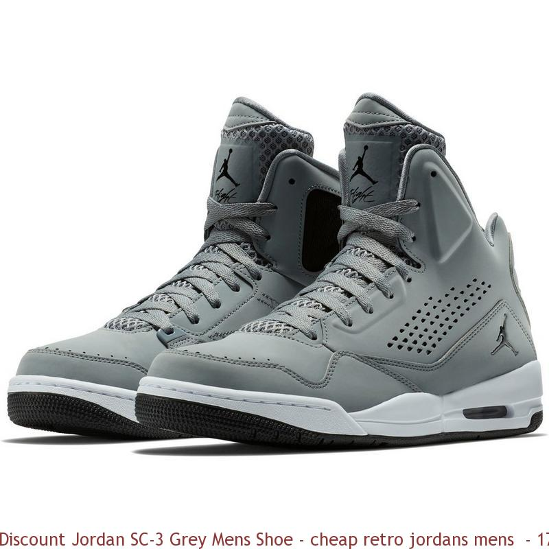 new product a7996 11406 Discount Jordan SC-3 Grey Mens Shoe – cheap retro ...