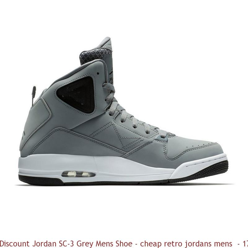 Discount Jordan SC-3 Grey Mens Shoe – cheap retro jordans mens ... 7d19dd658