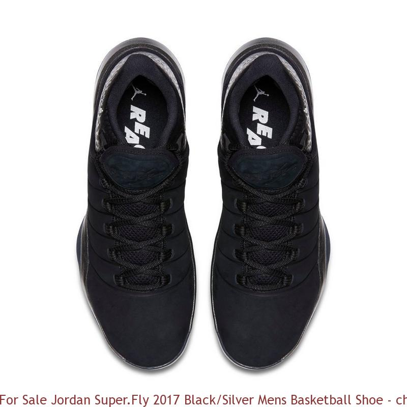For Sale Jordan Super.Fly 2017 BlackSilver Mens Basketball Shoe cheap air jordans online 1743VS