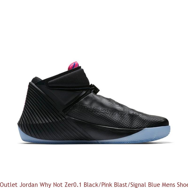 Outlet Jordan Why Not Zer0.1 Black Pink Blast Signal Blue Mens Shoe ... 79ab6855f141