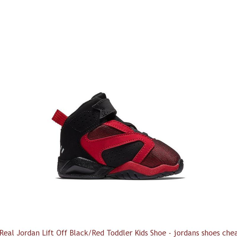 revendeur e1343 b168d Real Jordan Lift Off Black/Red Toddler Kids Shoe - jordans shoes cheap  price - R0402