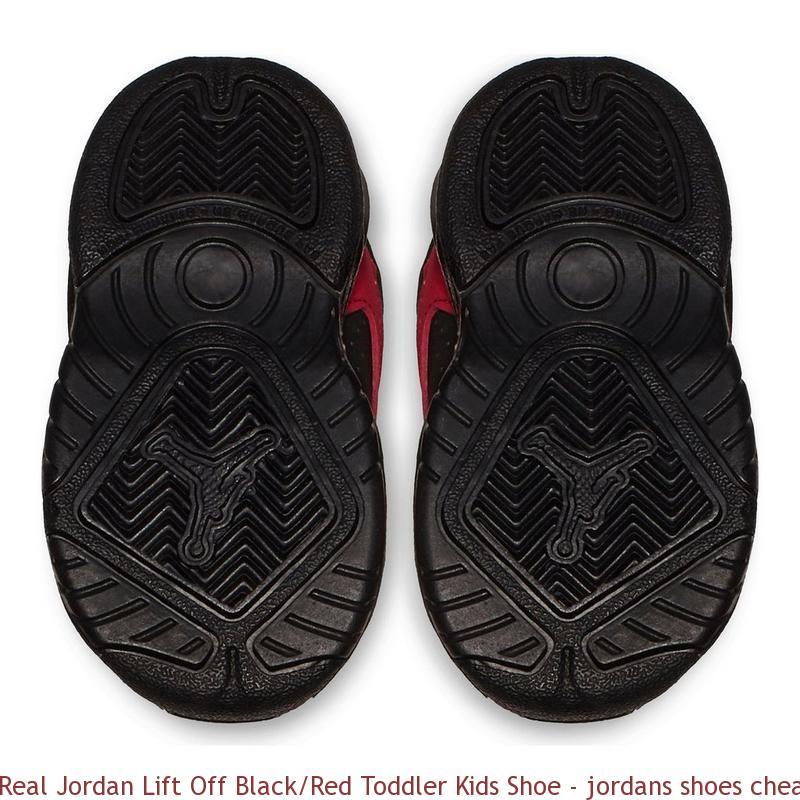 sale retailer 16f70 0896e Real Jordan Lift Off Black/Red Toddler Kids Shoe - jordans shoes cheap  price - R0402